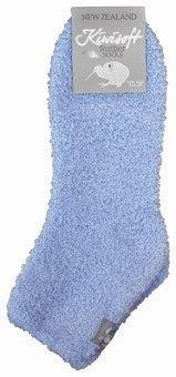 PK-55016 - Ankle Feather Socks Blue - New Zealand Gifts & Souvenirs