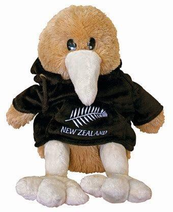 PK-00297 - Bags and Wallets Back Pack Kiwi Black - New Zealand Gifts & Souvenirs