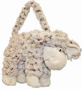 PK-00193 - Bags and Wallets Curly Sheep Handbag - New Zealand Gifts & Souvenirs