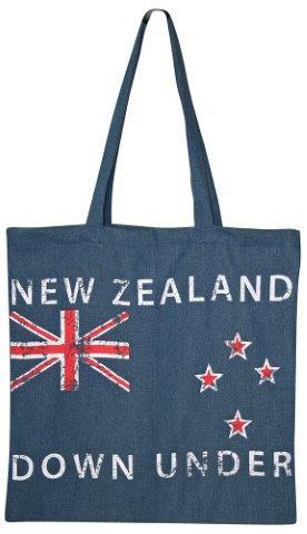PK-00497 - Bags and Wallets Denim Bag Flag - New Zealand Gifts & Souvenirs