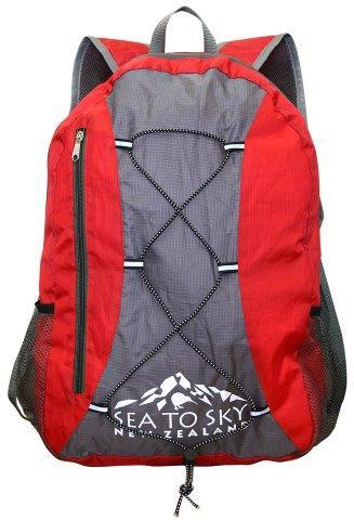 PK-00462 - Bags and Wallets Foldable BackPack Red - New Zealand Gifts & Souvenirs