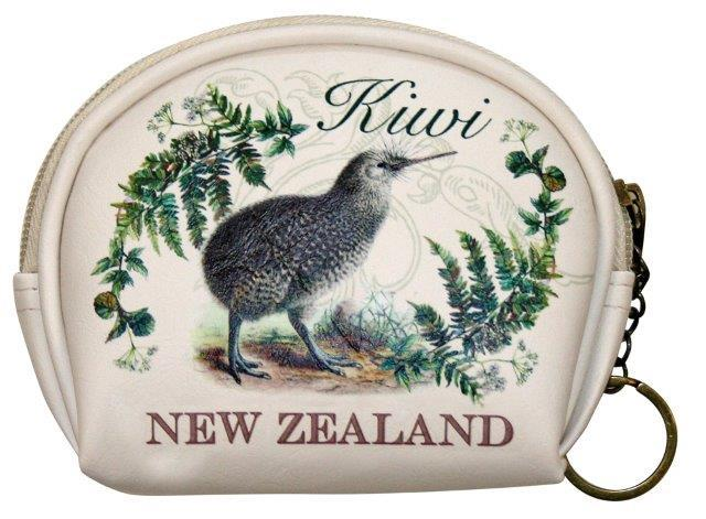 PK-00558 - Bags and Wallets Horseshoe Large Vintage Kiwi - New Zealand Gifts & Souvenirs