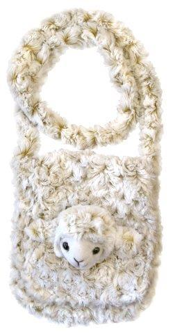 PK-00487 - Bags and Wallets Large Shoulder Bag Curly Sheep - New Zealand Gifts & Souvenirs