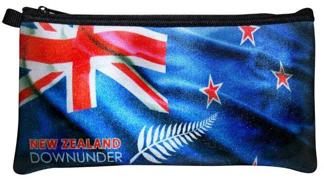 PK-00257 - Bags and Wallets Pencil Case Flag - New Zealand Gifts & Souvenirs