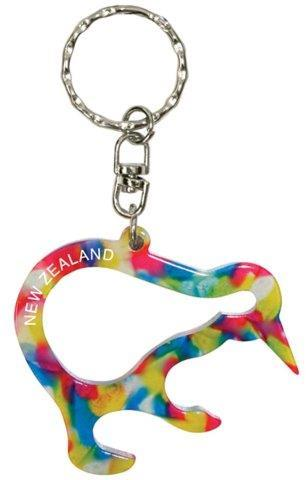 PK-24163 - Bottle Opener Kiwi Floral - New Zealand Gifts & Souvenirs