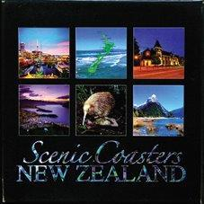 PK-80311 - Boxed Coaster 6 Piece Night Scene - New Zealand Gifts & Souvenirs