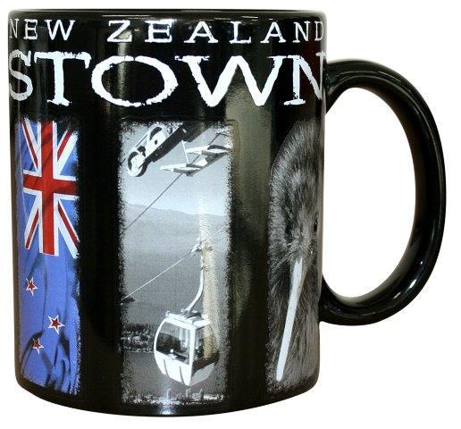 PK-10494 - Ceramics Mug 11oz Queenstown Picturescape - New Zealand Gifts & Souvenirs