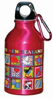 PK-82202 - Child Water Bottle 300ML Pink - New Zealand Gifts & Souvenirs