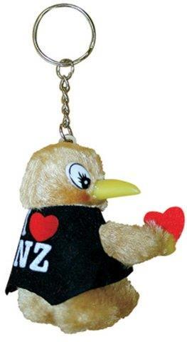 PK-80244 - Clip On Kiwis I Love NZ With Key Chain - New Zealand Gifts & Souvenirs
