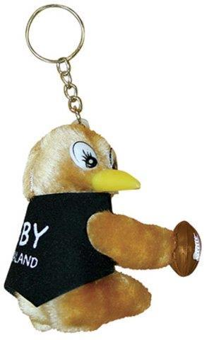 PK-80245 - Clip On Kiwis Rugby With Key Chain - New Zealand Gifts & Souvenirs