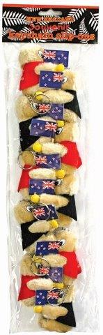 PK-80000 - Clip On Kiwis With Key Chain - New Zealand Gifts & Souvenirs