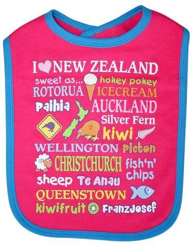 PK-79567 - Clothing Large Baby Bib Ice Cream - New Zealand Gifts & Souvenirs