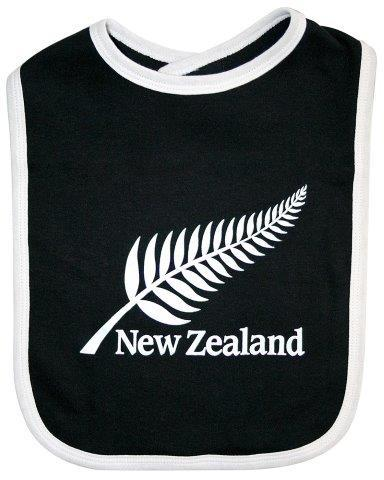 PK-79564 - Clothing Large Baby Bib Silver Fern - New Zealand Gifts & Souvenirs