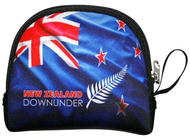 PK-00229 - Coin Bag Flag DownUnder - New Zealand Gifts & Souvenirs