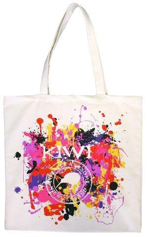 PK-00458 - Cotton Bag Paint Splatter Awesome - New Zealand Gifts & Souvenirs