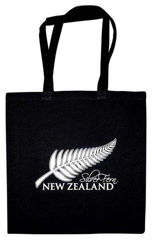 PK-00393 - Cotton Bag Silver Fern - New Zealand Gifts & Souvenirs