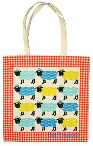 PK-00396 - Cotton Bag Spotty Sheep - New Zealand Gifts & Souvenirs