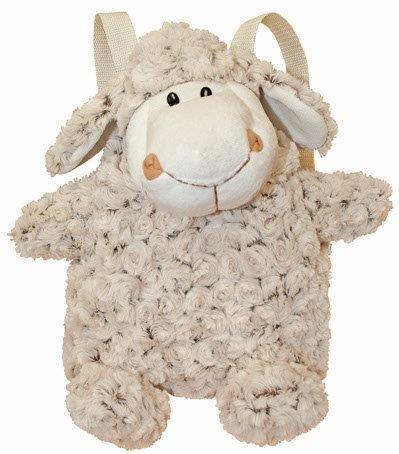 PK-00194 - Curly Sheep Back Pack - New Zealand Gifts & Souvenirs