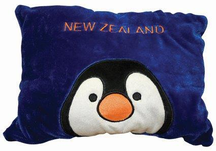 PK-30353 - Cushion Toy Penguin - New Zealand Gifts & Souvenirs