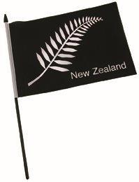 PK-80040 - Flags - NZ Fern Design - 10cm x 15cm (4 - New Zealand Gifts & Souvenirs