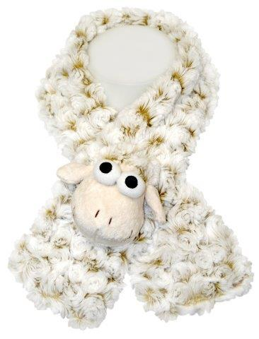 PK-75020 - Hats And Scarfs - Neck Warmer - White Sheep - New Zealand Gifts & Souvenirs