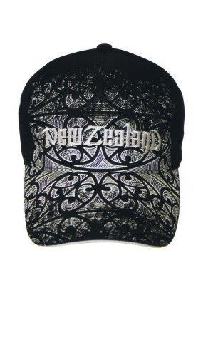 PK-60720 - Headwear Cap Tattoo Fade Black - New Zealand Gifts & Souvenirs