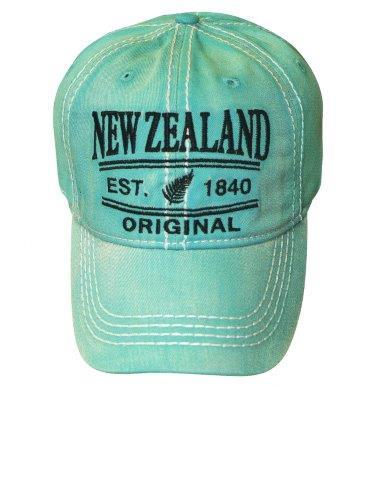 PK-60713 - Headwear Cap Washed NZ Original Coral - New Zealand Gifts & Souvenirs