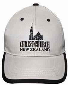 PK-60375 - Headwear Caps Christchurch Grey - New Zealand Gifts & Souvenirs