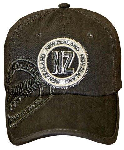 PK-60537 - Headwear Fern Slate - New Zealand Gifts & Souvenirs
