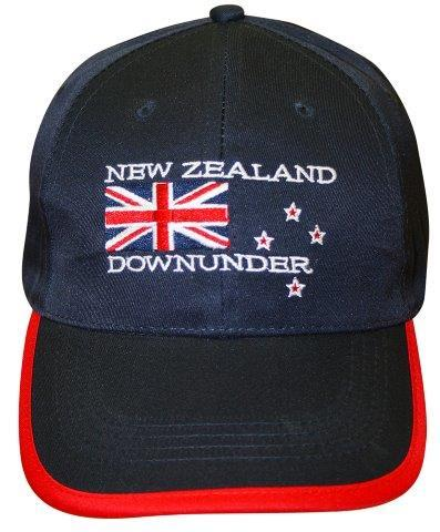 PK-60636 - Headwear Flag Downunder Navy Red - New Zealand Gifts & Souvenirs