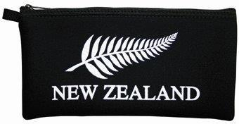 PK-00177 - Pencil Case Fern Black - New Zealand Gifts & Souvenirs