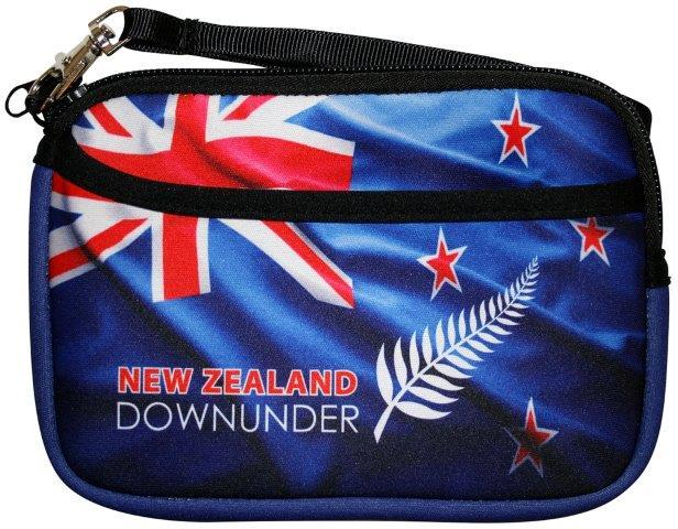 PK-00235 - Purse with Pocket Flag DownUnder - New Zealand Gifts & Souvenirs