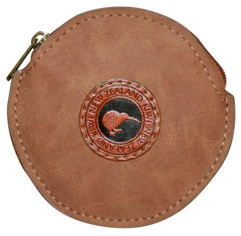 PK-00240 - Outback Kiwi Coin Bag Round - New Zealand Gifts & Souvenirs