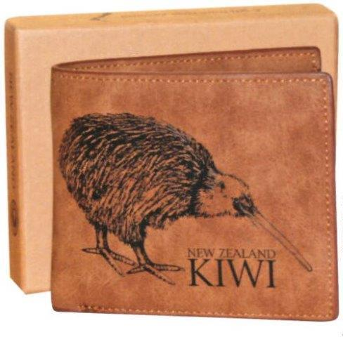 PK-00249 - Outback Kiwi Boxed Wallet - New Zealand Gifts & Souvenirs