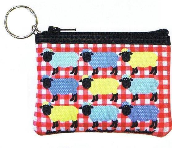 PK-00391 - Zip Purse with Keychain Spotty - New Zealand Gifts & Souvenirs