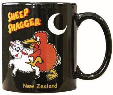 PK-10059 - Mug - Sheep Shagger Black - 11oz - New Zealand Gifts & Souvenirs