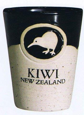 PK-10411 - Stoneware Shot - New Zealand Gifts & Souvenirs
