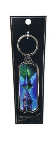 PK-20576 - Keychains Oblong Foil Mitre Peak - New Zealand Gifts & Souvenirs
