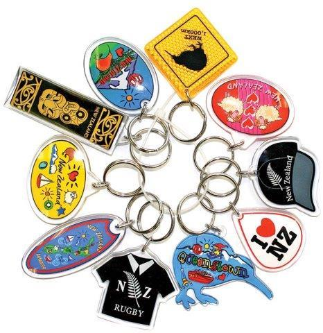 PK-21998 - Keychain 10 Pack Bundle Assorted Queenstown - New Zealand Gifts & Souvenirs