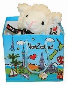 PK-30000 - Soft Toys 9cm Sheep With Voice in bag - New Zealand Gifts & Souvenirs