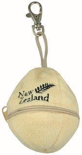 PK-30169 - Soft Toys Clip On Egg Shell Cream - New Zealand Gifts & Souvenirs