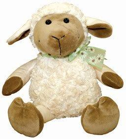 PK-30392 - Soft Toys Happy Lamb Medium Sitting - New Zealand Gifts & Souvenirs