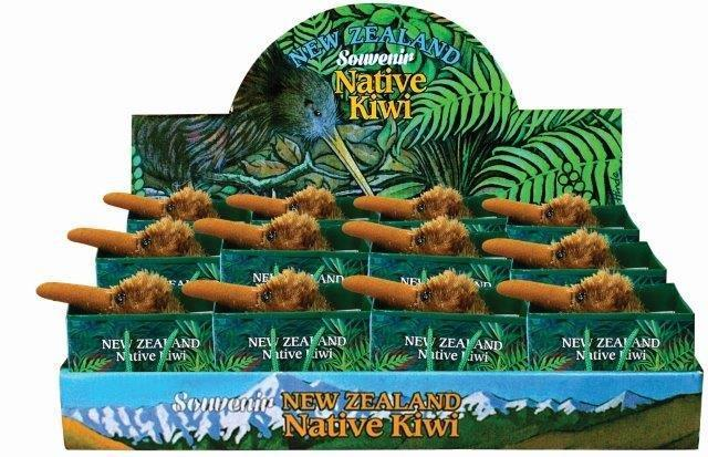 PK-30534 - Native Kiwi 10CM With Voice In Bag - New Zealand Gifts & Souvenirs
