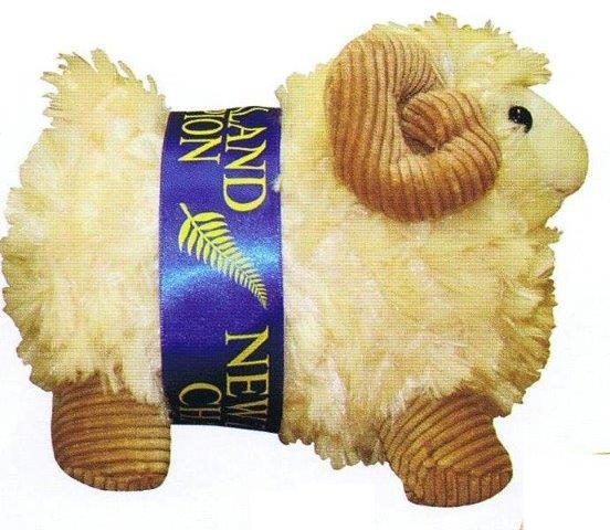 PK-30543 - Sheep 16cm Cord Horns - New Zealand Gifts & Souvenirs