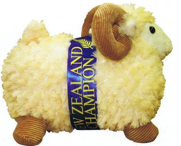 PK-30545 - Sheep 28cm Cord Horns - New Zealand Gifts & Souvenirs