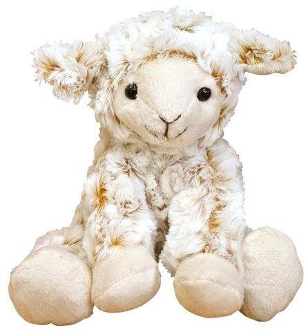 PK-30553 - Soft Toys Curly Lamb 19 cm Sitting - New Zealand Gifts & Souvenirs