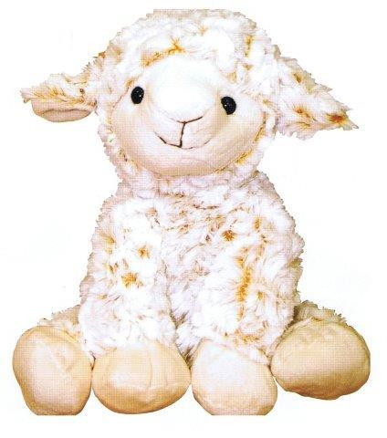PK-30554 - Soft Toys Curly Lamb 26 cm Sitting - New Zealand Gifts & Souvenirs