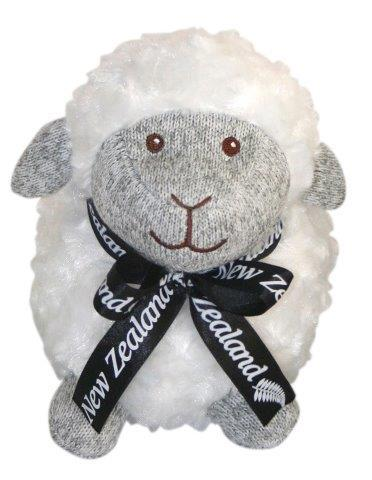 PK-30666 - Soft Toys Standing Sheep 18cm Grey Marl Face - New Zealand Gifts & Souvenirs