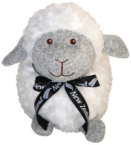 PK-30667 - Soft Toys Standing Sheep 24cm Grey Marl Face - New Zealand Gifts & Souvenirs