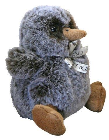 PK-30678 - Soft Toys Baby Kiwi Snowy Brown - New Zealand Gifts & Souvenirs